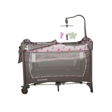 Cozy Camp Cot - Pink Buterfly