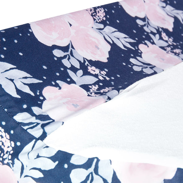 Change Cover - Floral - Navy