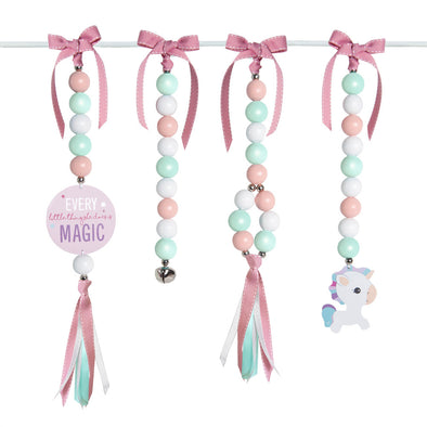 Natural Dingle Dangle Set - Magical Unicorn
