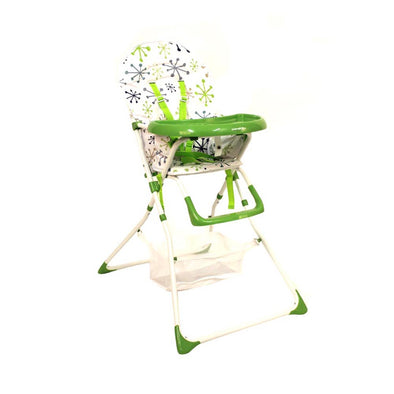 Nibble Light Feeding Chair - Green Spark