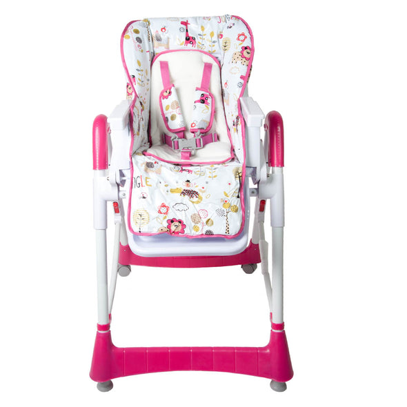 Snack Feeding Chair - Jungle Pink