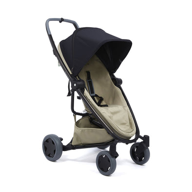 Quinny Zapp Flex Plus Stroller - Black on Sand
