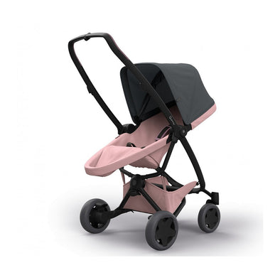 Quinny Zapp Flex Plus Stroller - Graphite on Blush
