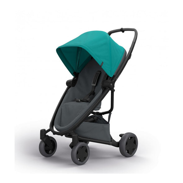 Quinny Zapp Flex Plus Stroller - Green on Graphite