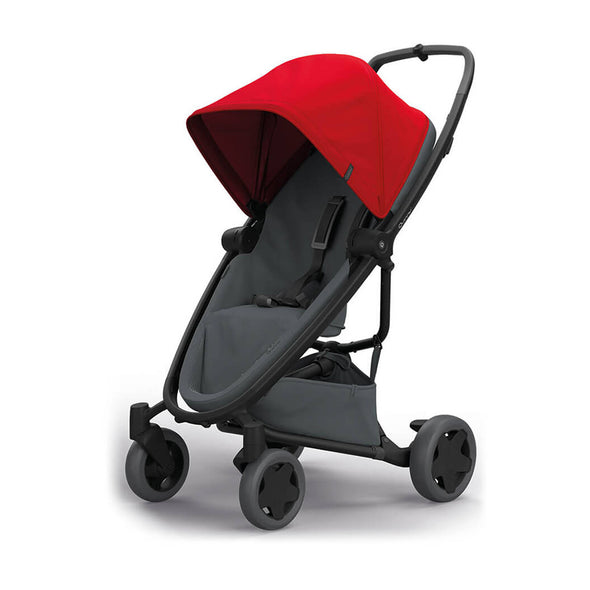 Quinny Zapp Flex Plus Stroller - Red on Graphite