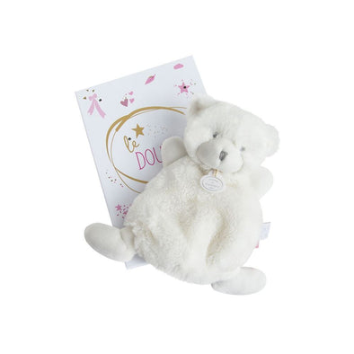 Doudou Baby Bear with Light Box Pink