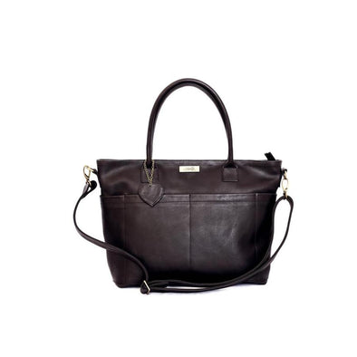 The Beula Baby Bag Black