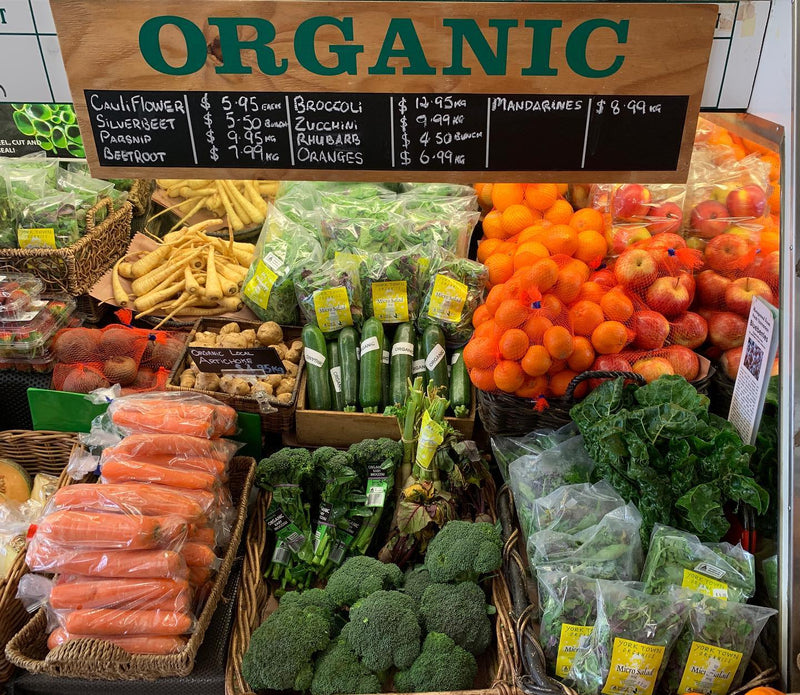 Organic Fruit & Vegetable Box (Large) with meat. Orders In By Monday 9am For A Wednesday Collection