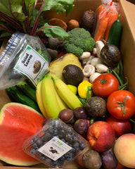 Organic Fruit & Vegetable Box (Large) Organic Boxes Packed Wednesday's