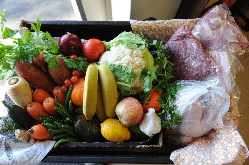 Family Produce Box. Orders in by 9am Friday for Monday Collection