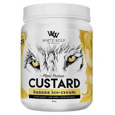 WHITE WOLF VEGAN CUSTARD