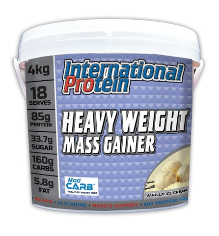 Heavy Weight Mass Gainer - 4kg - International Protein