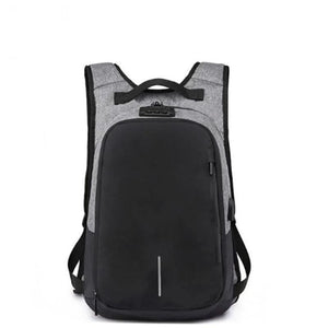 Expandable Anti-theft Canvas Backpack
