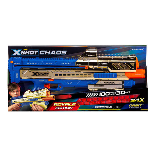 Zuru X-Shot Chaos Golden Orbit Blaster