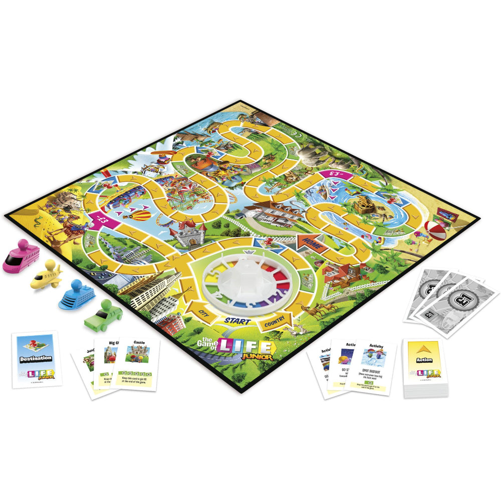 Hasbro Gaming The Game Of Life Junior  Image#3