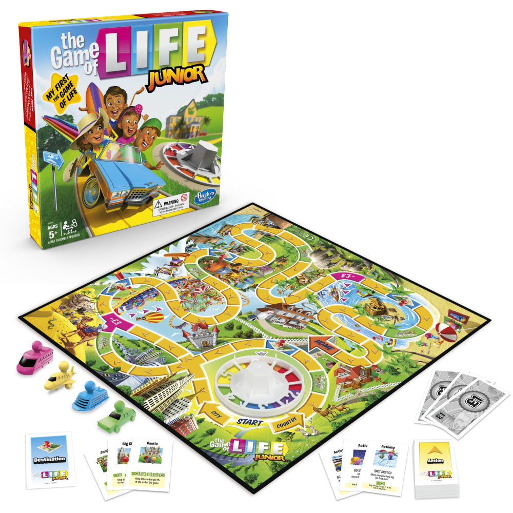 Hasbro Gaming The Game Of Life Junior  Image#1