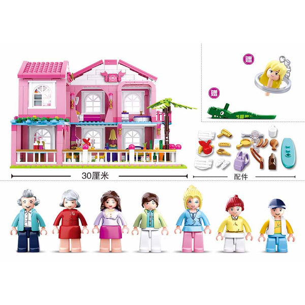 Sluban Girls Dream-Villa(896Pcs)