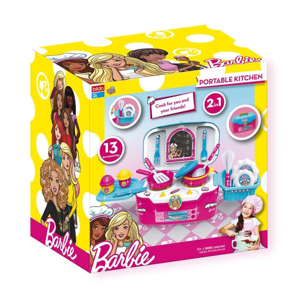 Barbie Portable Kitchen Case