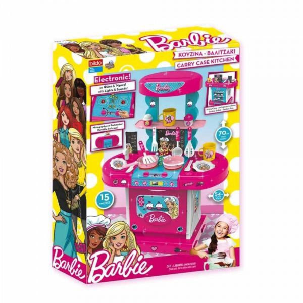 Barbie Suitcase Kitchen Set 2 In 1