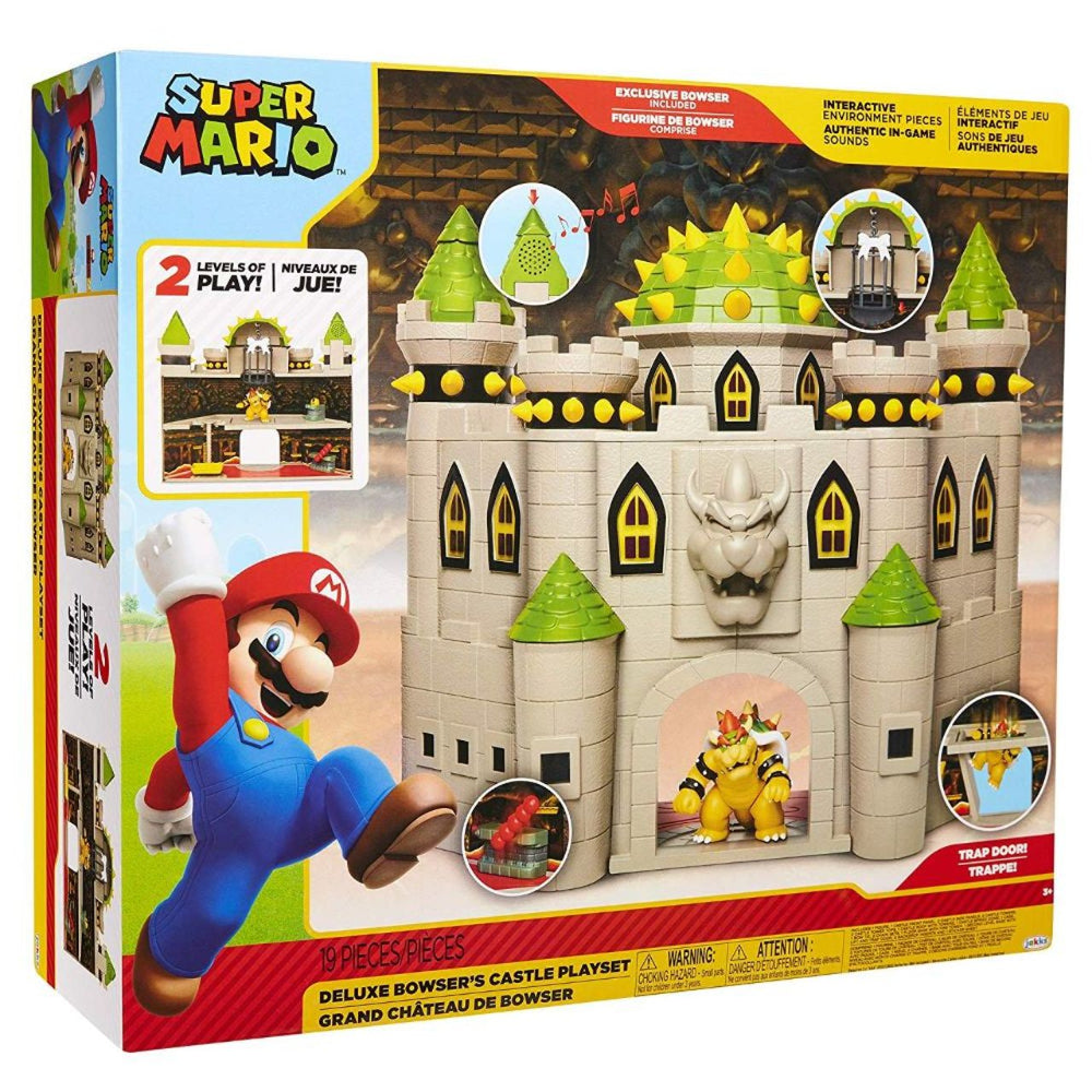 Nintendo 2.5 Bowser Castle. Play set