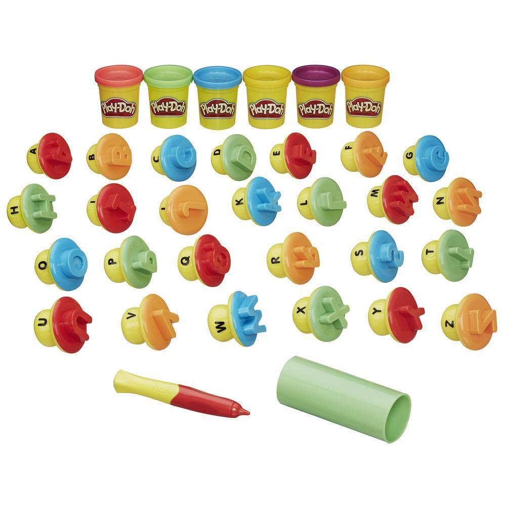 Play-Doh Letters And Language