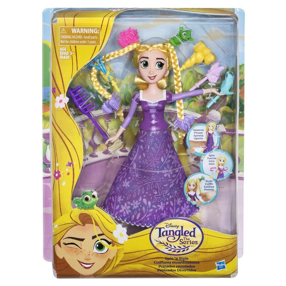 Disney Princess Tangled Spin N Style