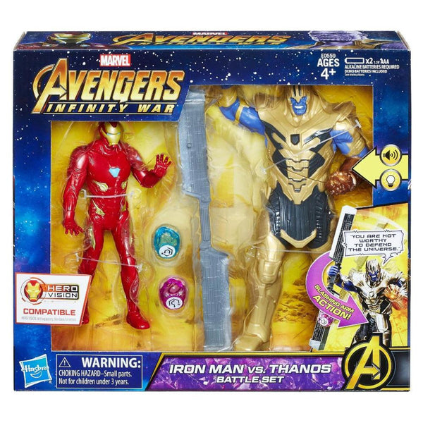 Avengers 6In Iron Man Vs Thanos Battle Set