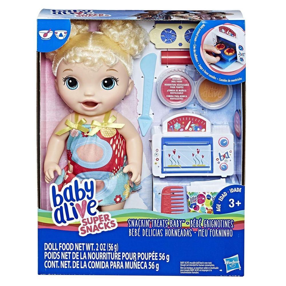 Baby Alive Snackin Treat Baby Blonde  Image#2
