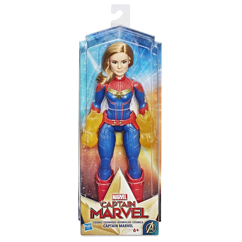 Captain Marvel Movie Cosmic Captain Super Hero Doll  Image#2