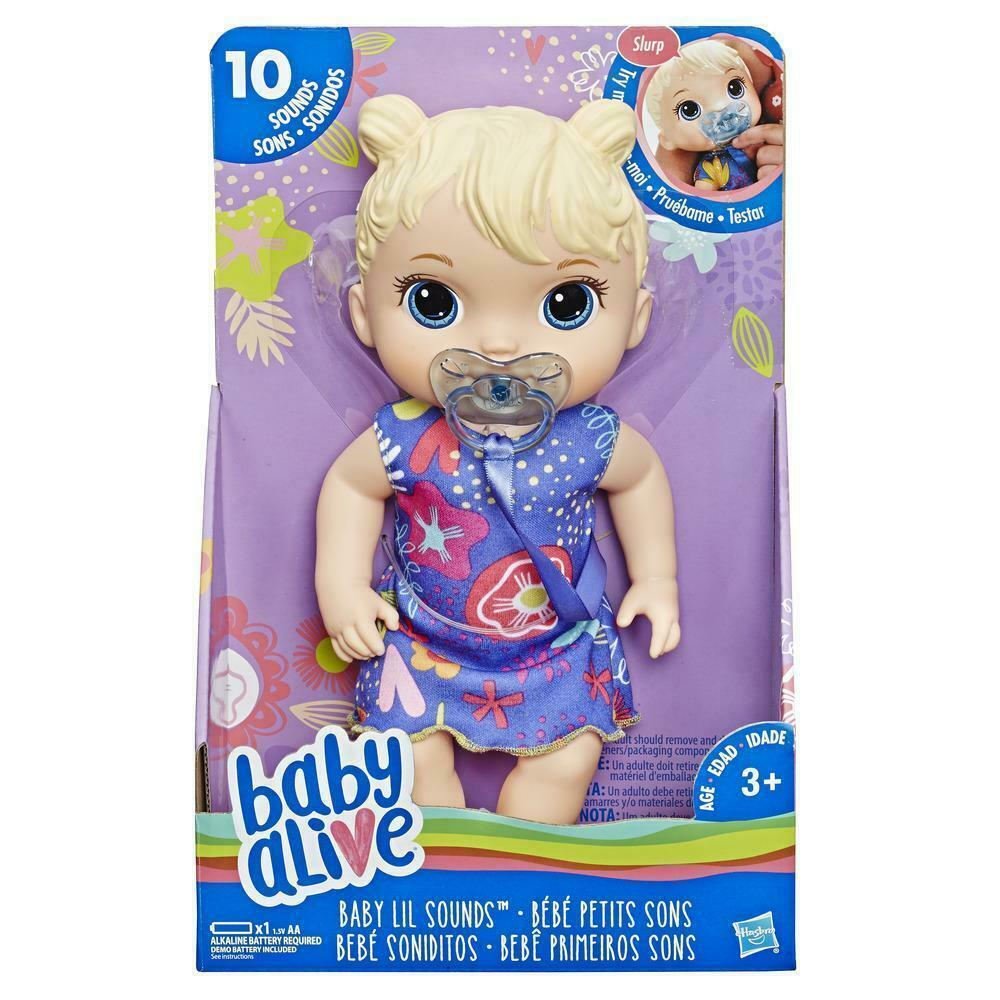 Baby Alive Lil Sounds Interactive Baby Doll
