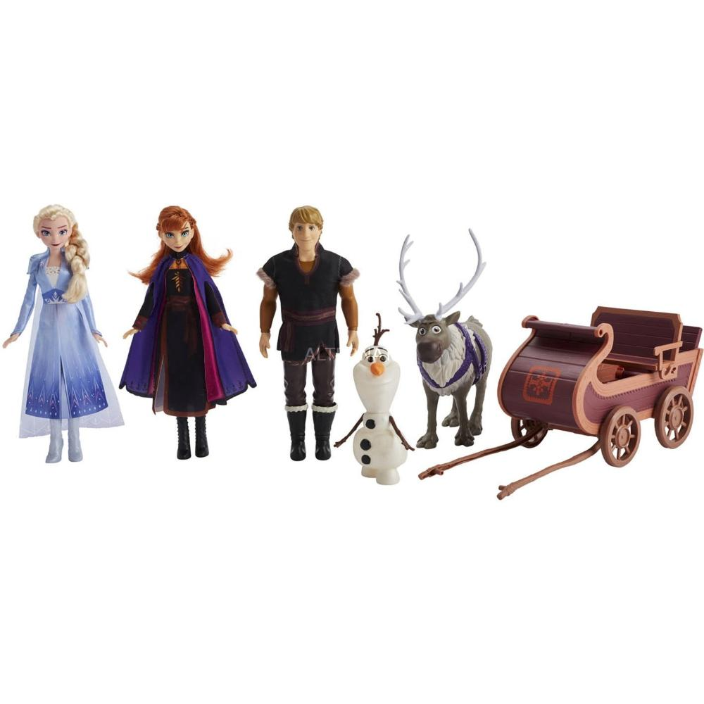 Frozen Sledding Adventures Doll Pack