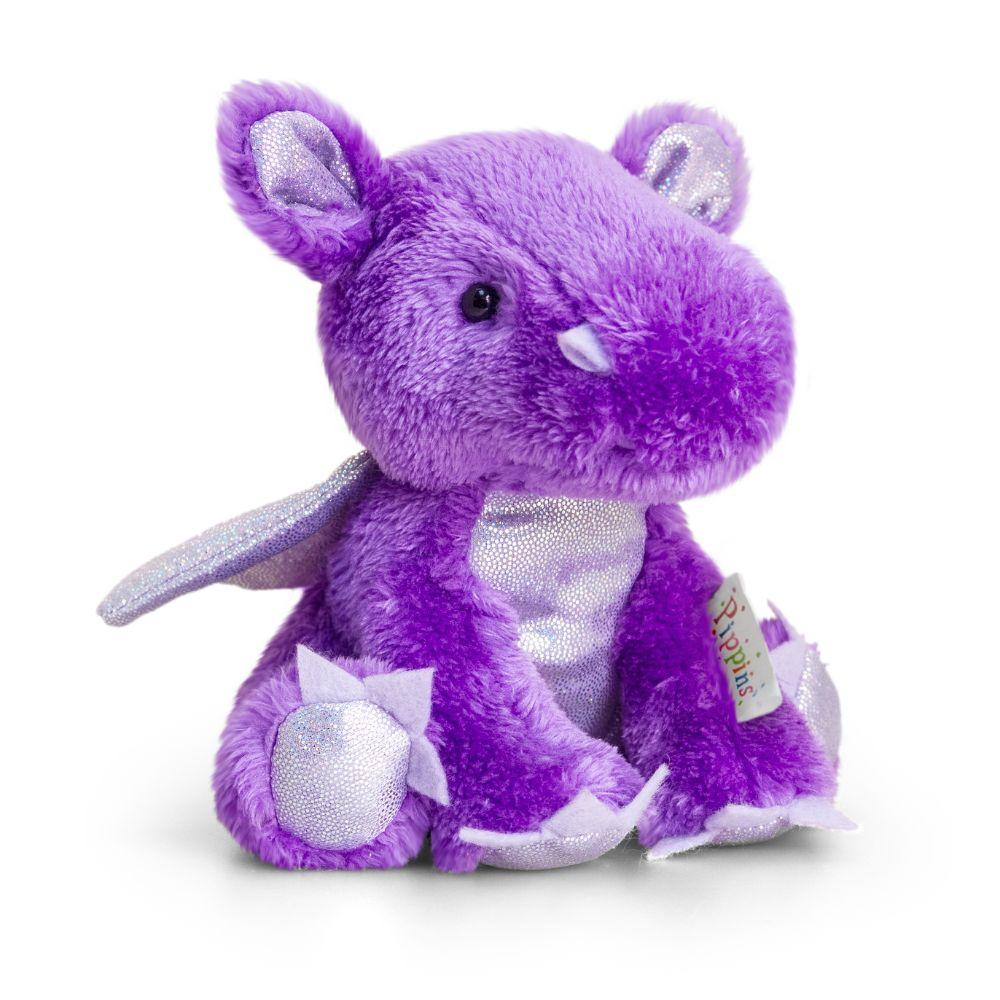 Keel Toys 14Cm Pippins Purple Dragon