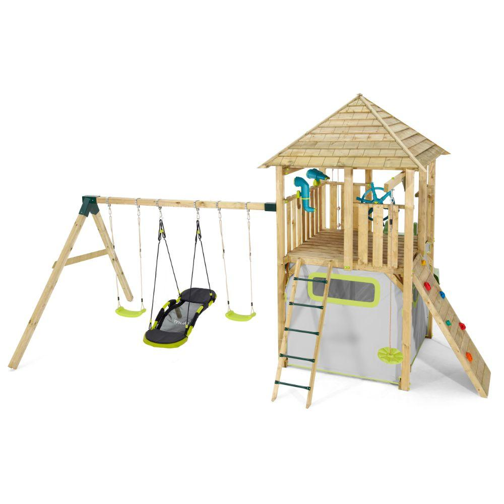 Plum Warthog Wooden Play Centre  Image#1