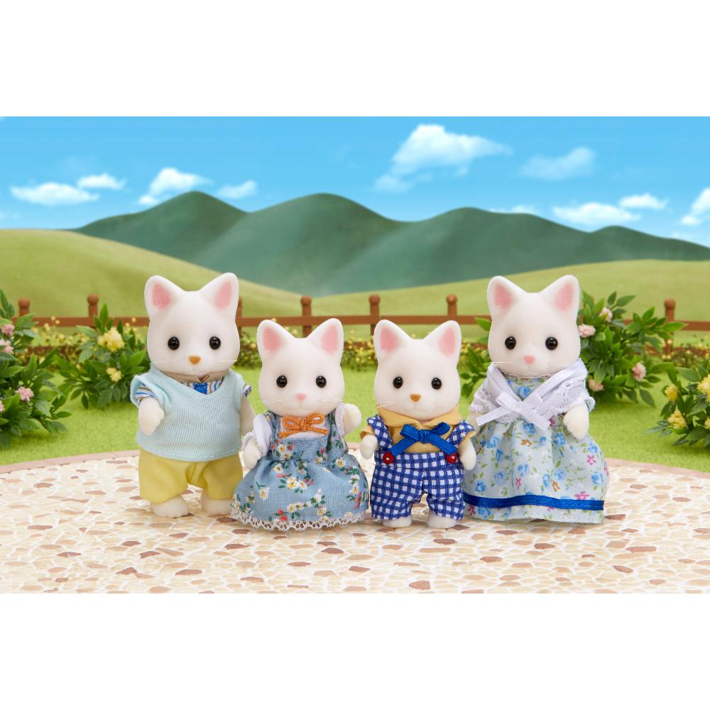Sylvanian Family Silk Cat Family