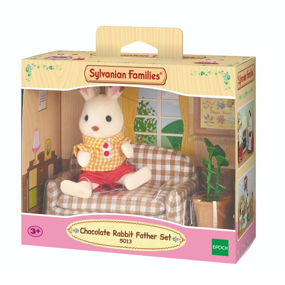 Sylvanian Family Chocolate Rabbit Father Se