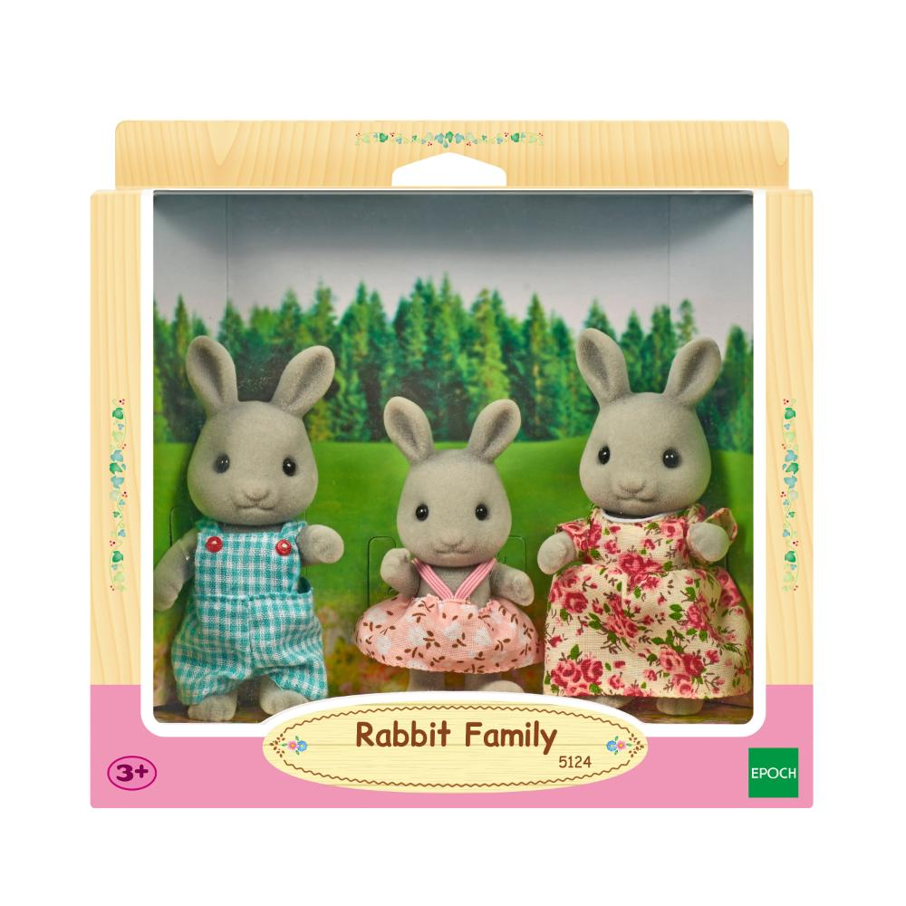 Sylvanian Family Rabbit Family