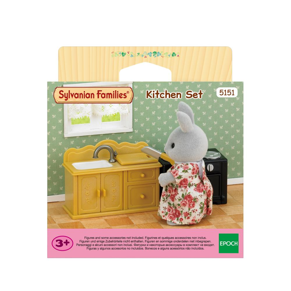 Sylvanian Family Kitchen Set
