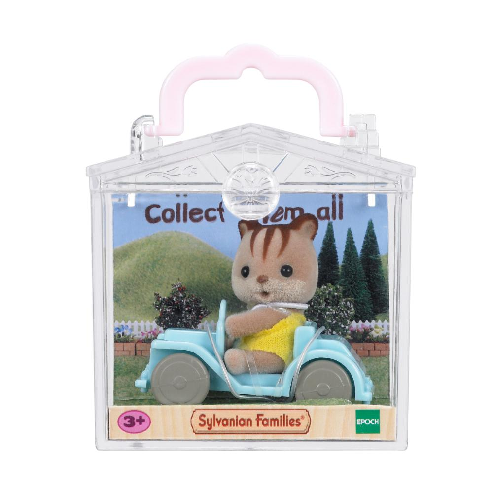 Sylvanian Families Baby Carry Case (Squirrel On Car)  Image#1