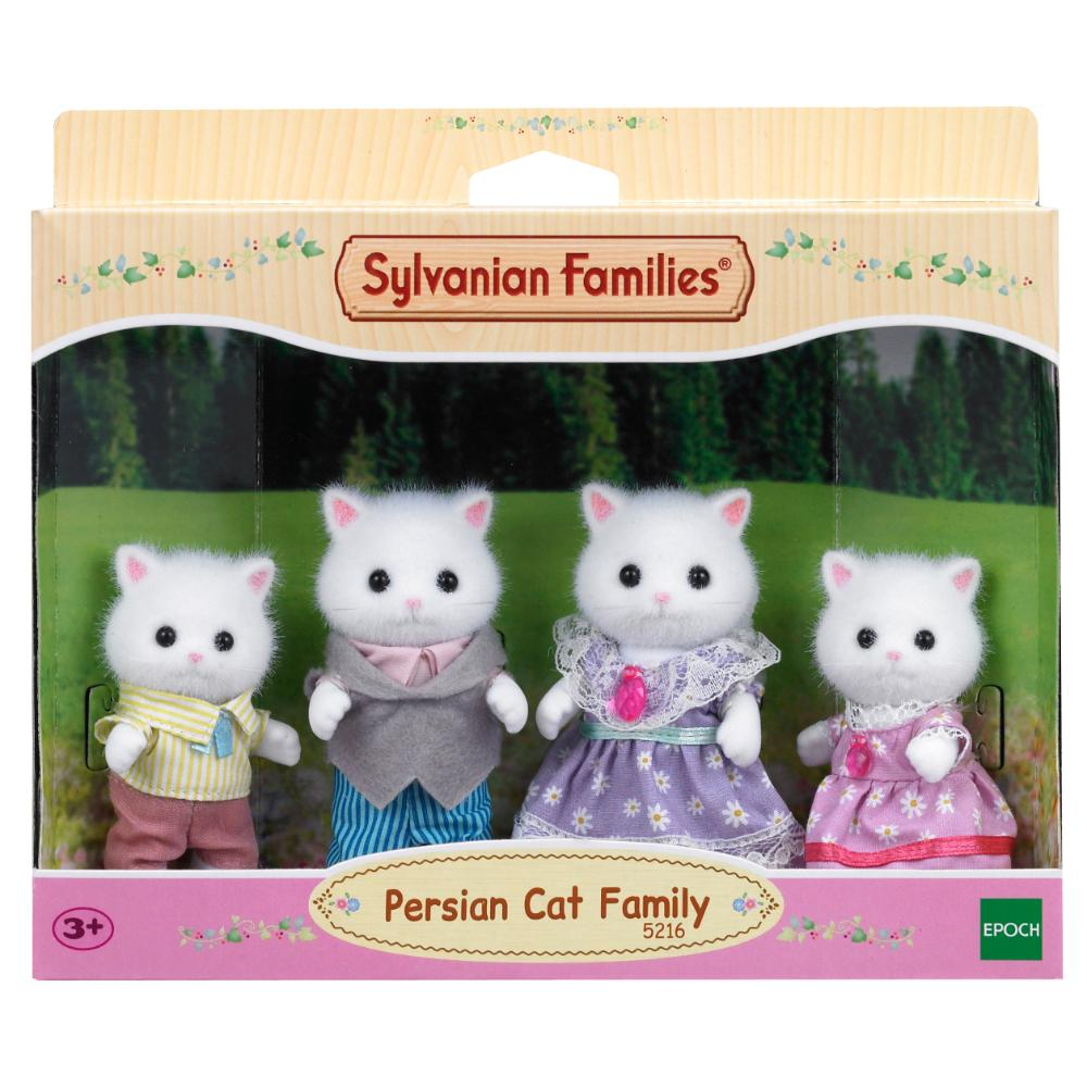 Sylvanian Family Persian Cat Family