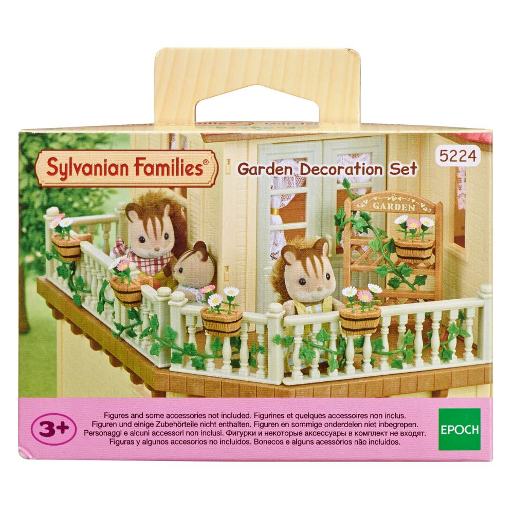 Sylvanian Family Garden Decoration Set