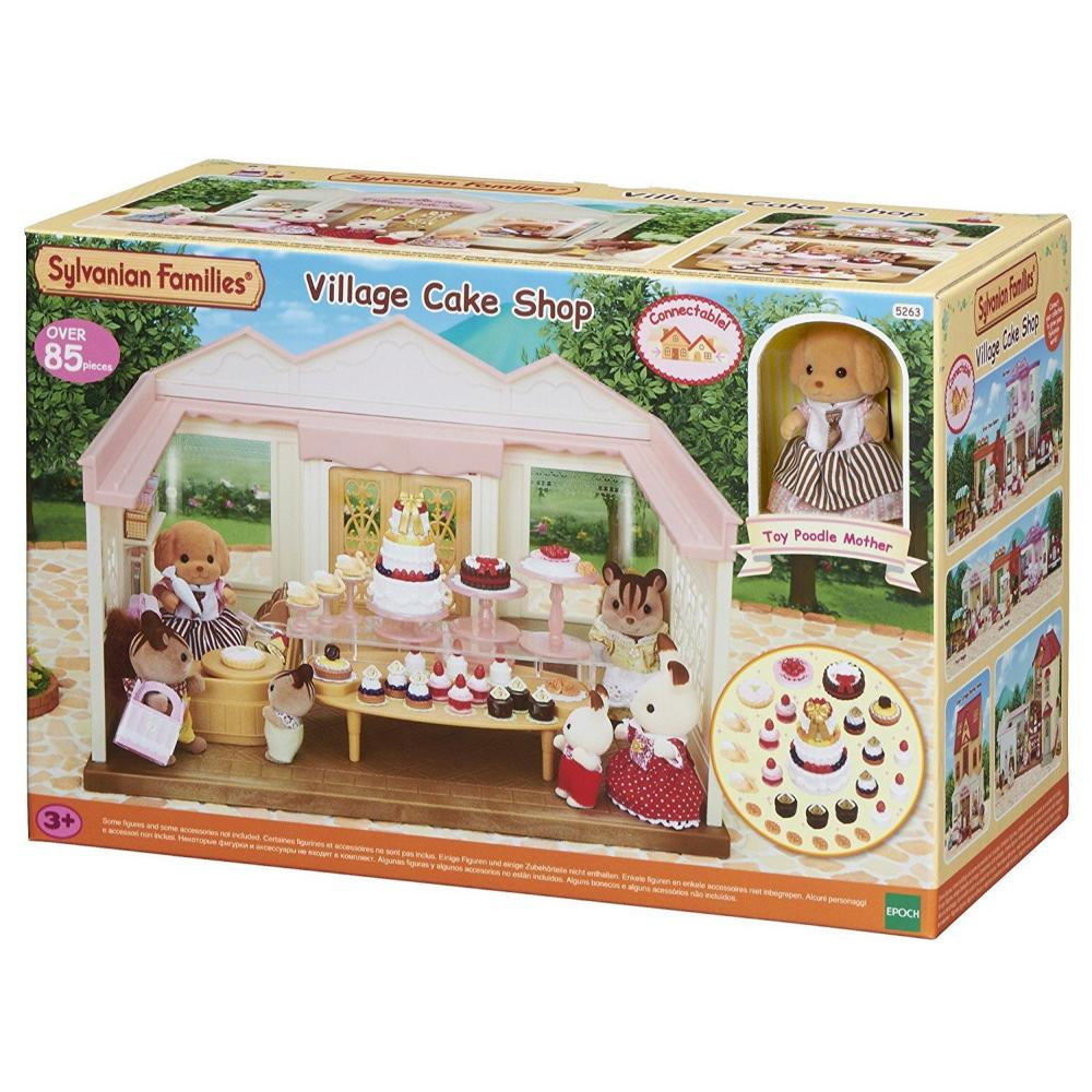 Sylvanian Family Village Cake Shop