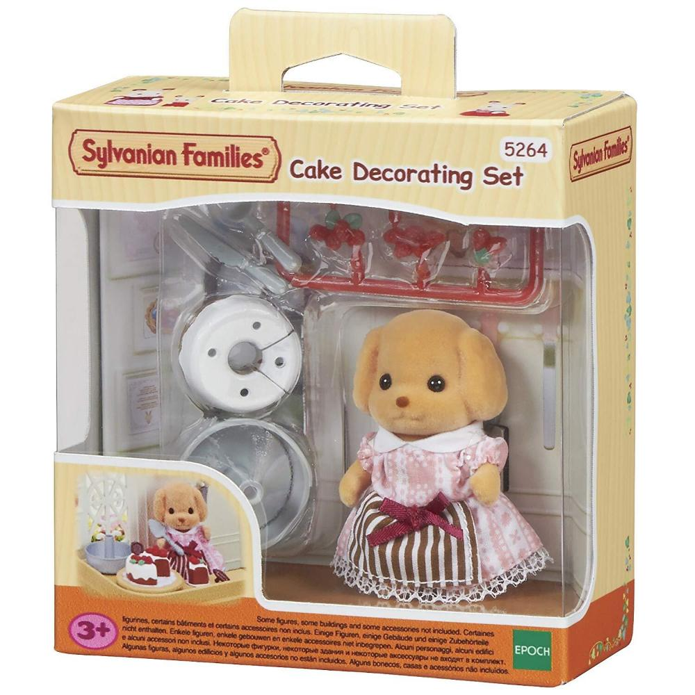 Sylvanian Family Cake Decorating Set