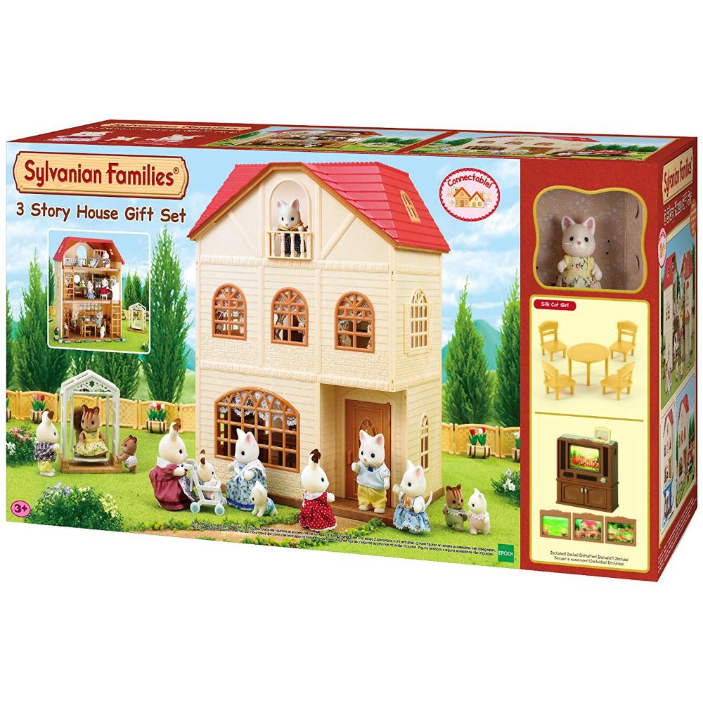 Sylvanian Family 3 Story House Gift Set C(Euro Item Name Version