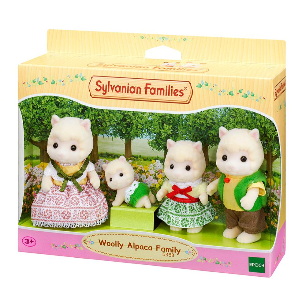 Sylvanian Family Woolly Alpaca Family