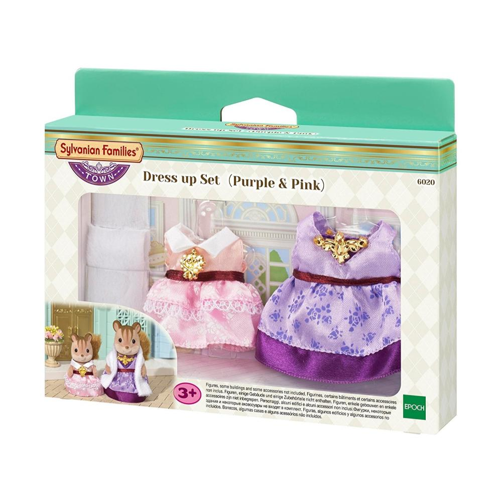 Sylvanian Families Ts Dress Up Set (Pu & Pk)  Image#1