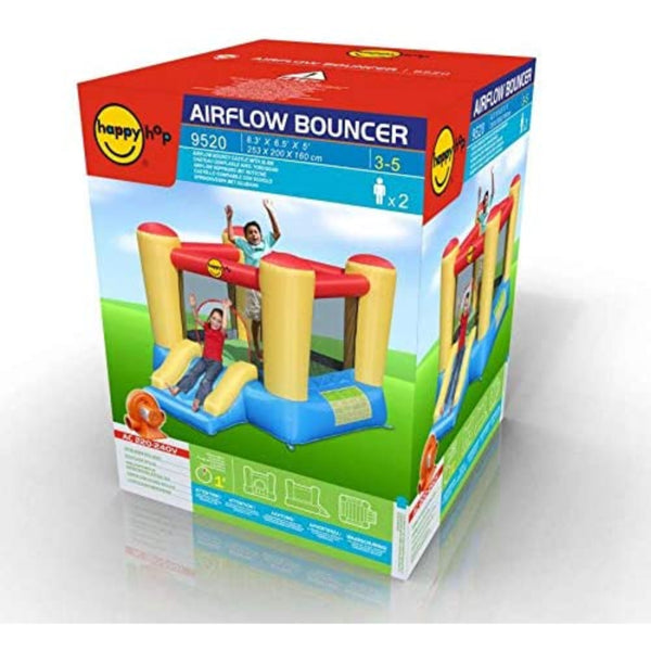 Happy Hop Airflow Bouncy Castle With Slide