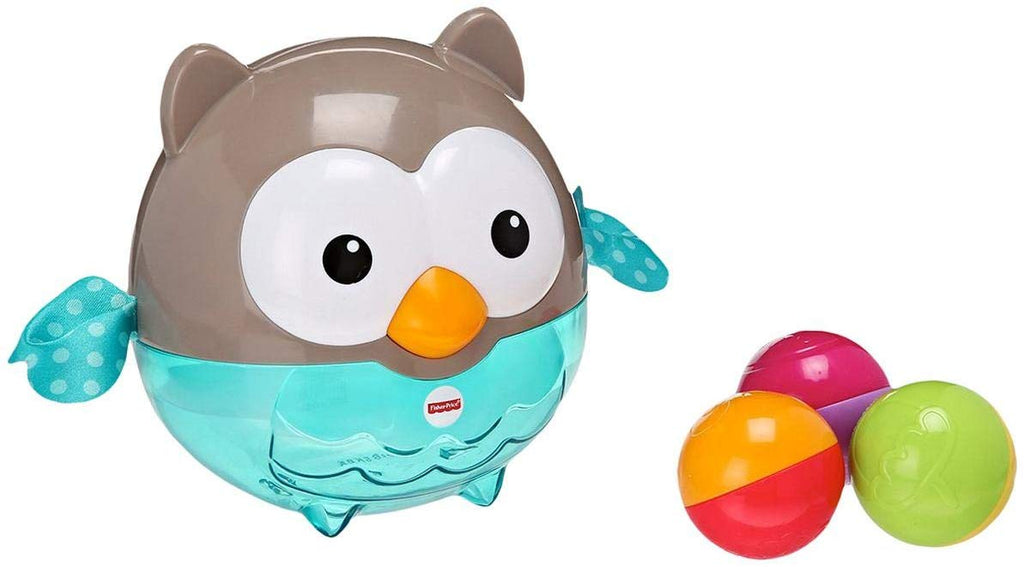 Fisher Price  Core  Bat & Roll Owl