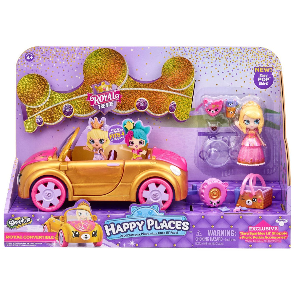 Shopkins  Royal Convertible