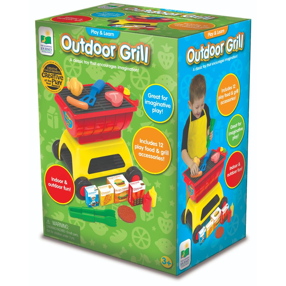 The Learning Journey Play And Learn Outdoor Grill