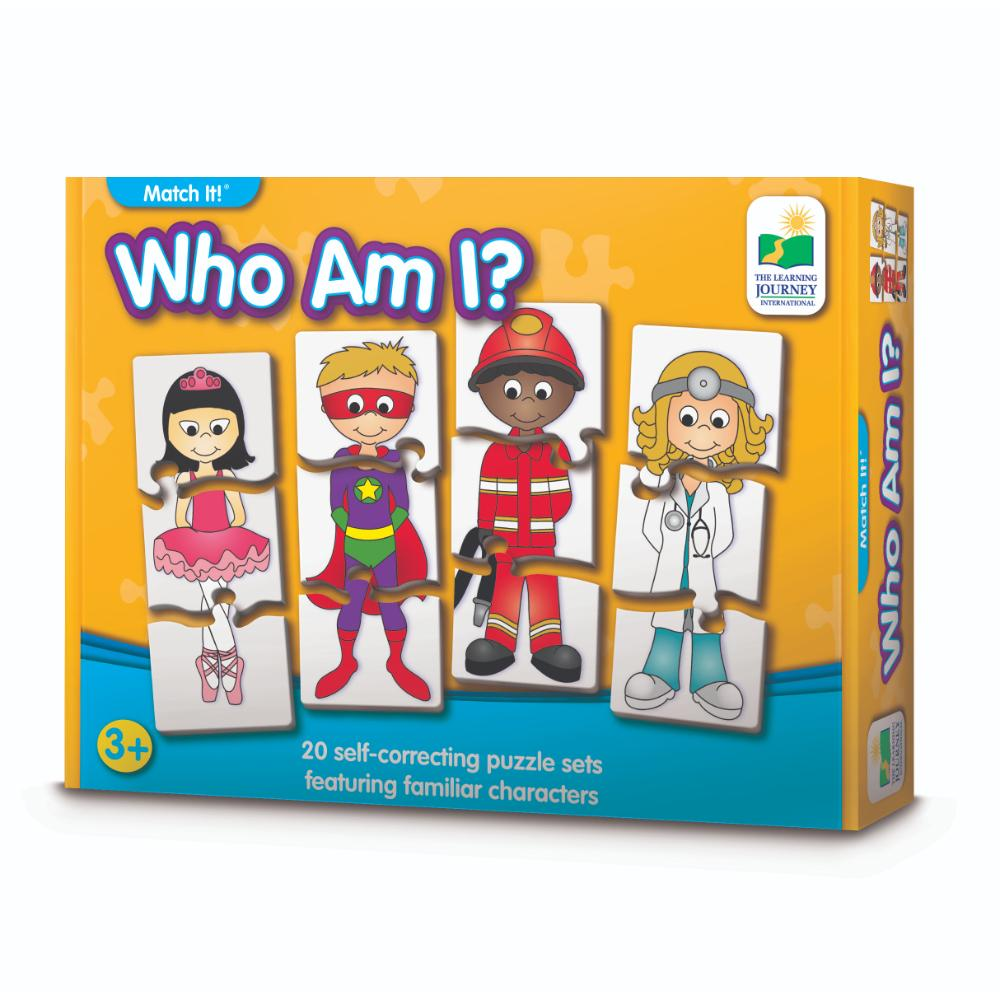 The Learning Journey Match It! - Who Am I?